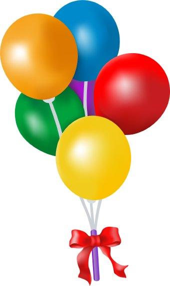 Birthday Balloon Clipart - Clipart Kid