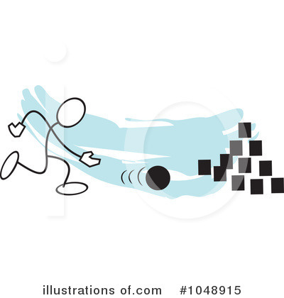 Bowling Clipart  1048915   Illustration By Johnny Sajem