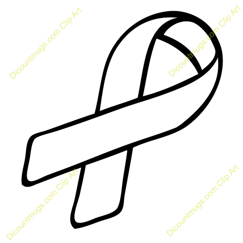 Cancer Ribbon Clip Art Vector Cancer Ribbon Clip Art Black