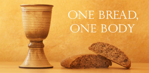Communion Sermon  You Should All Eat Together   Chuckwarnock Com