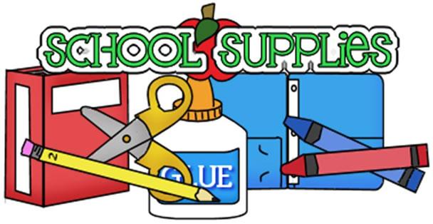 School Supplies Drive Clipart - Clipart Kid