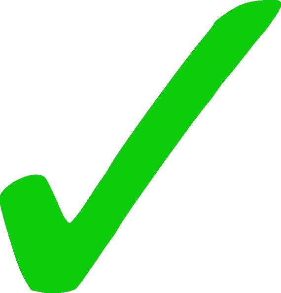 Green Tick Clip Art Source Http Clker Com Clipart Green Tick 1 Html