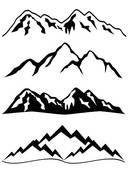 Mountain Range Clip Art   Clipart Panda   Free Clipart Images
