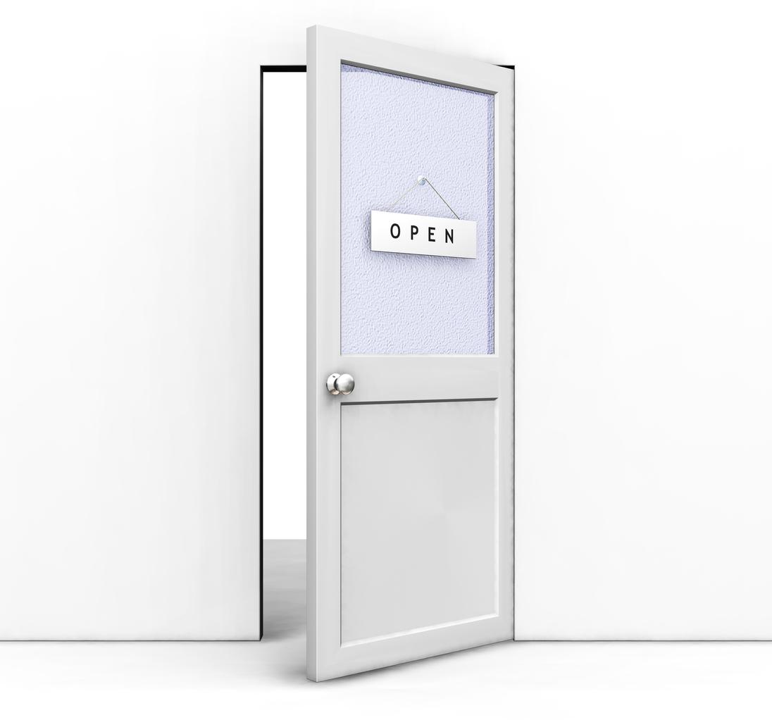 Open door free clipart clipart suggest for Door picture