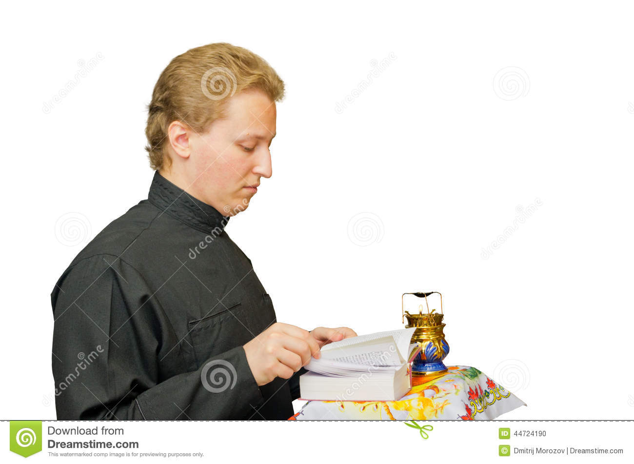 Young Man Seeking Shelter In The Lord Jesus Christ Stock Photo   Image