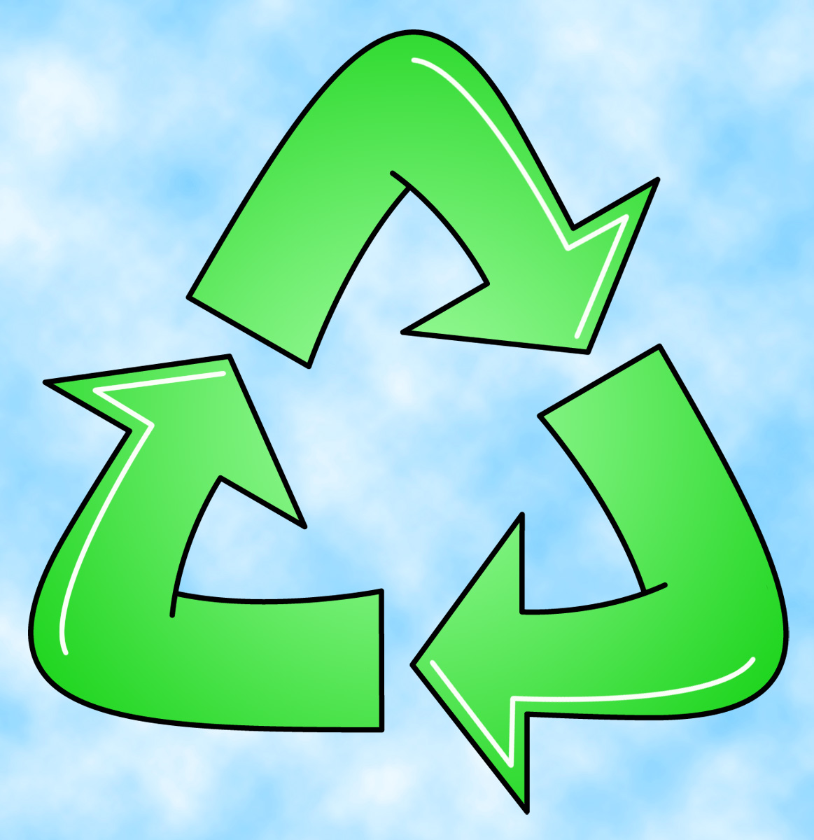 Recycle Logo Clipart - Clipart Kid