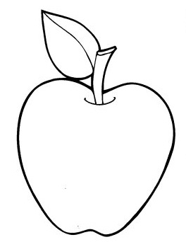 Apple Coloring Pages   Coloring Pages Hello Kitty Coloring Pages