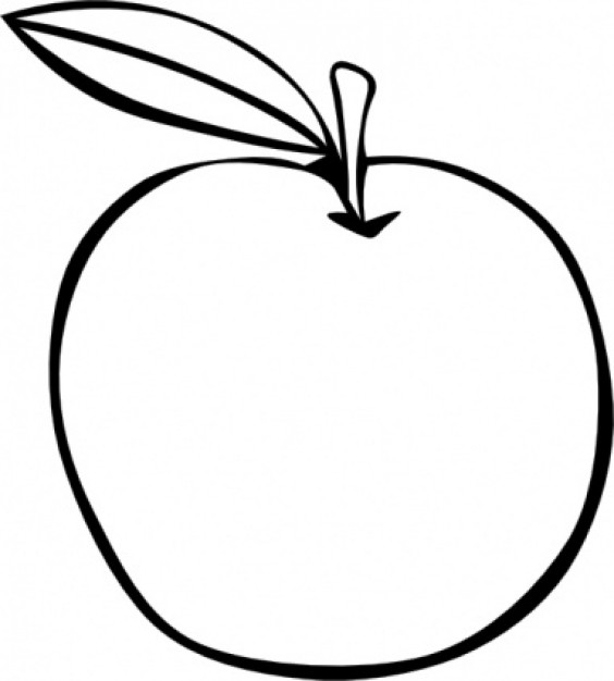 Apples Clip Art Colour