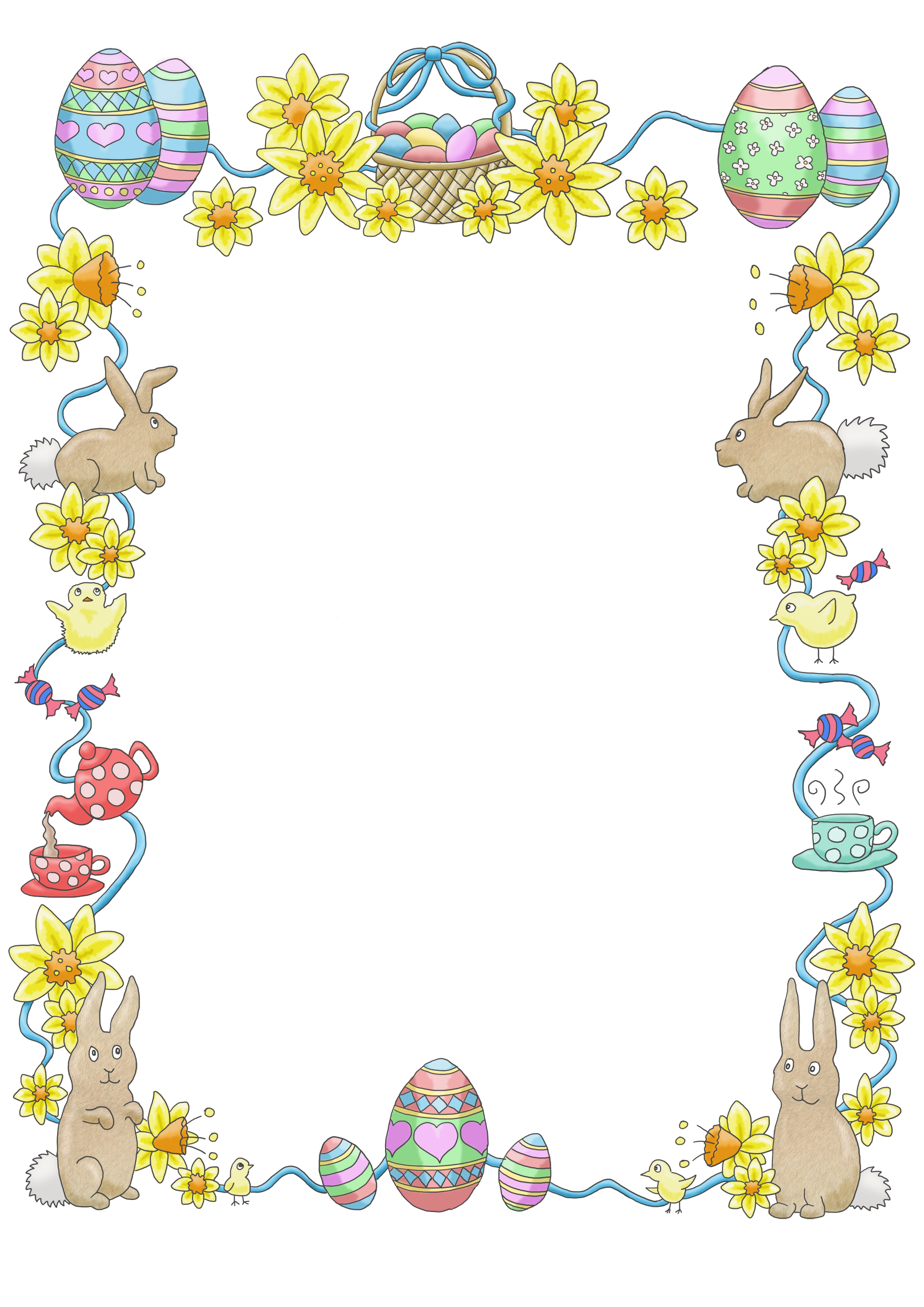 free clip art borders for easter - photo #12