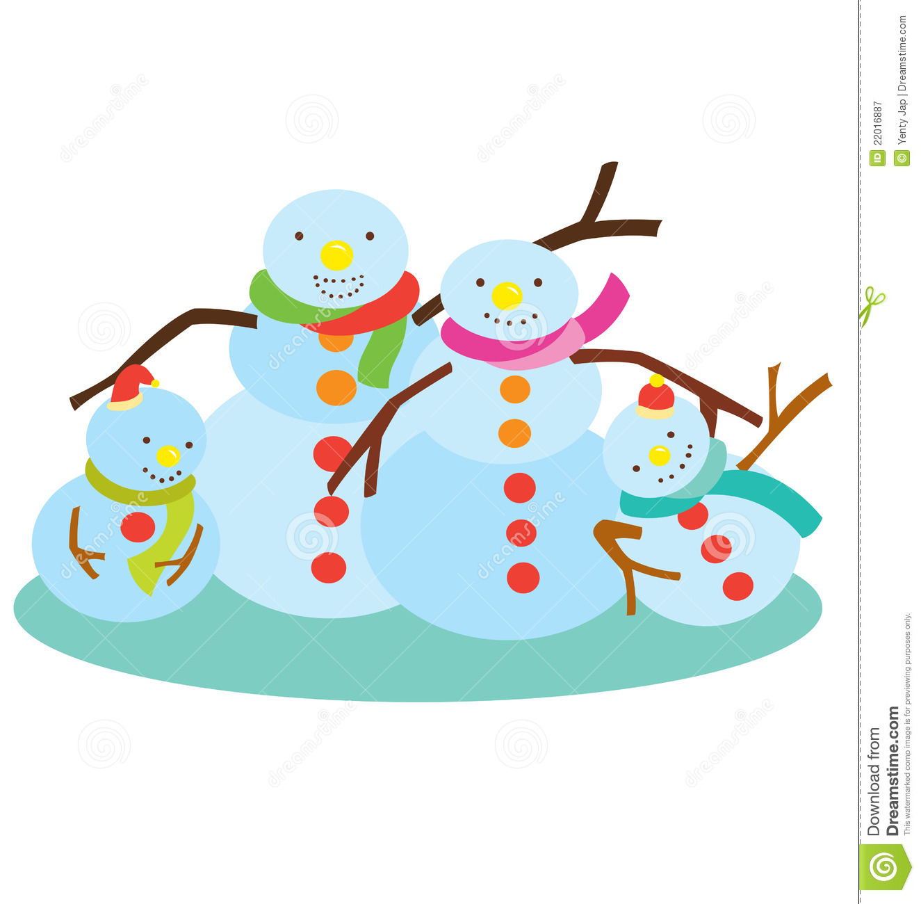 snowman family clip art free - photo #5