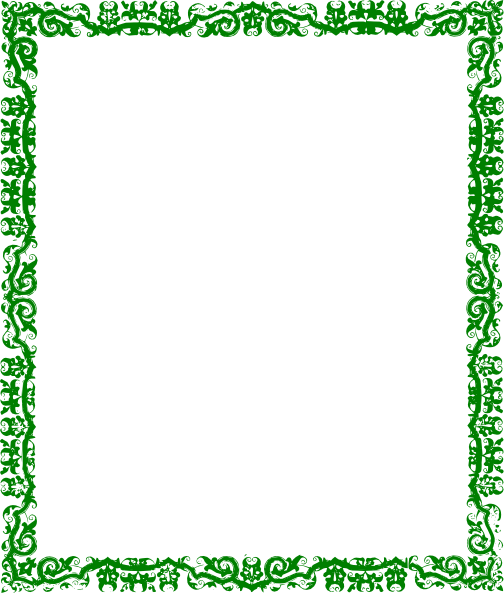 Green Border Clipart - Clipart Suggest