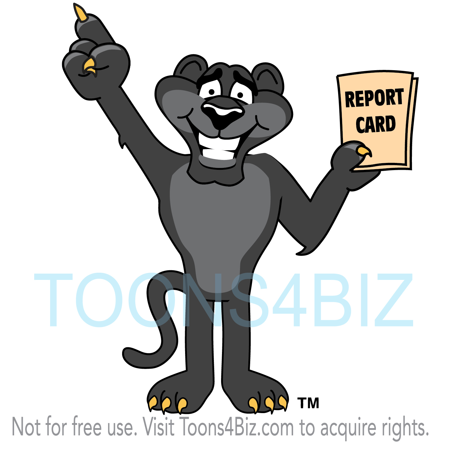 Mascot Clipart Collection Panther Mascot Clipart