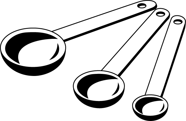 Measuring Spoons Clipart - Clipart Suggest