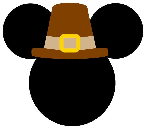 Mickey Mouse Thanksgiving Clip Art