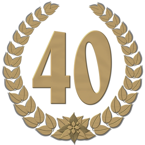 40 Anniversary Clipart - Clipart Suggest 40 Clipart