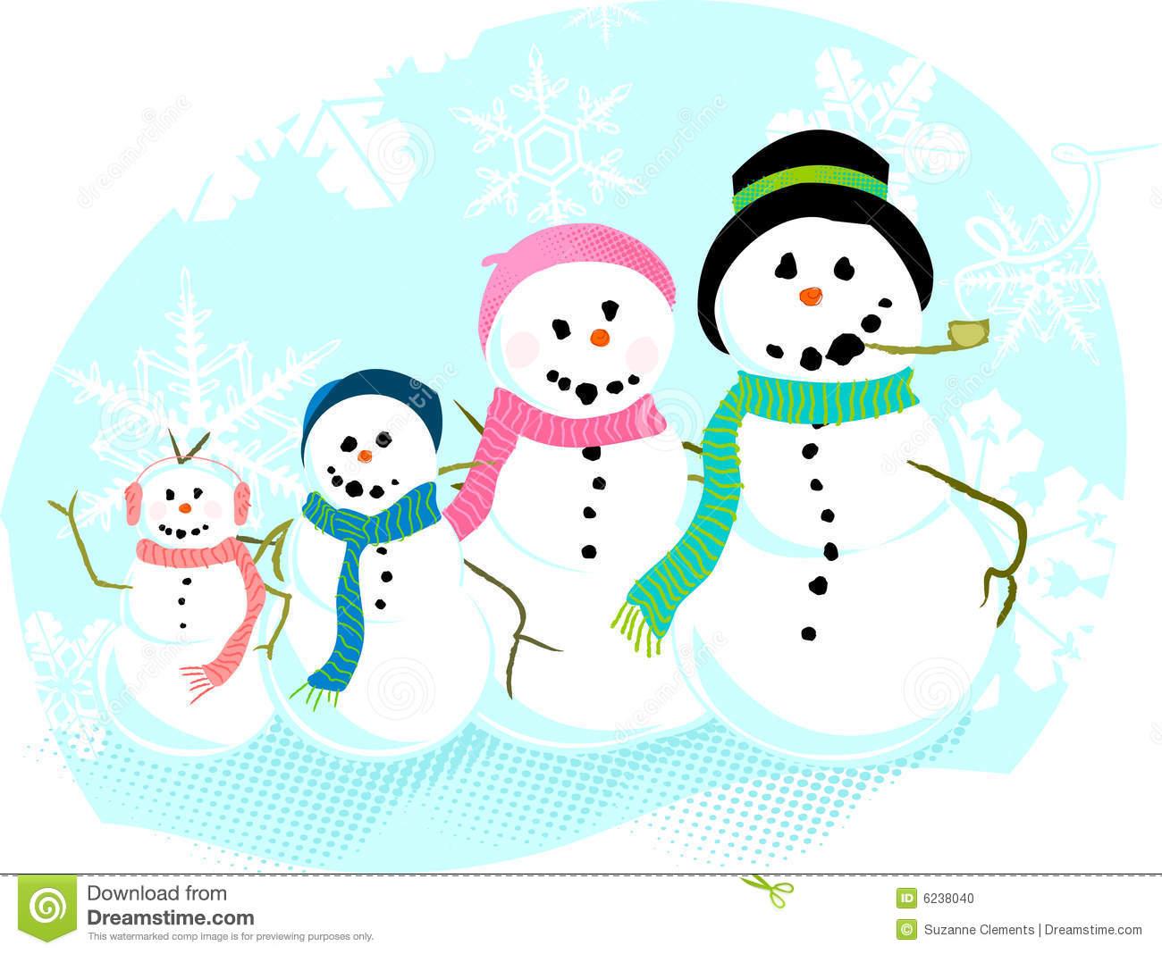 snowman family clip art free - photo #4