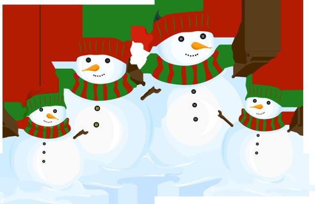 Snowman Family Clipart - Clipart Kid