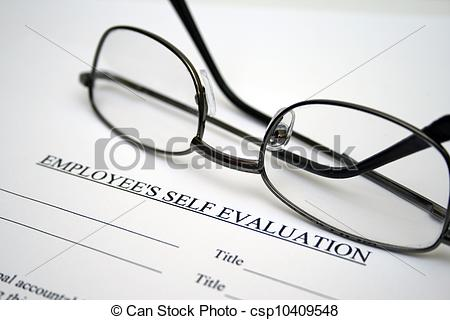 Stock Photo   Employee Self Evaluation   Stock Image Images Royalty