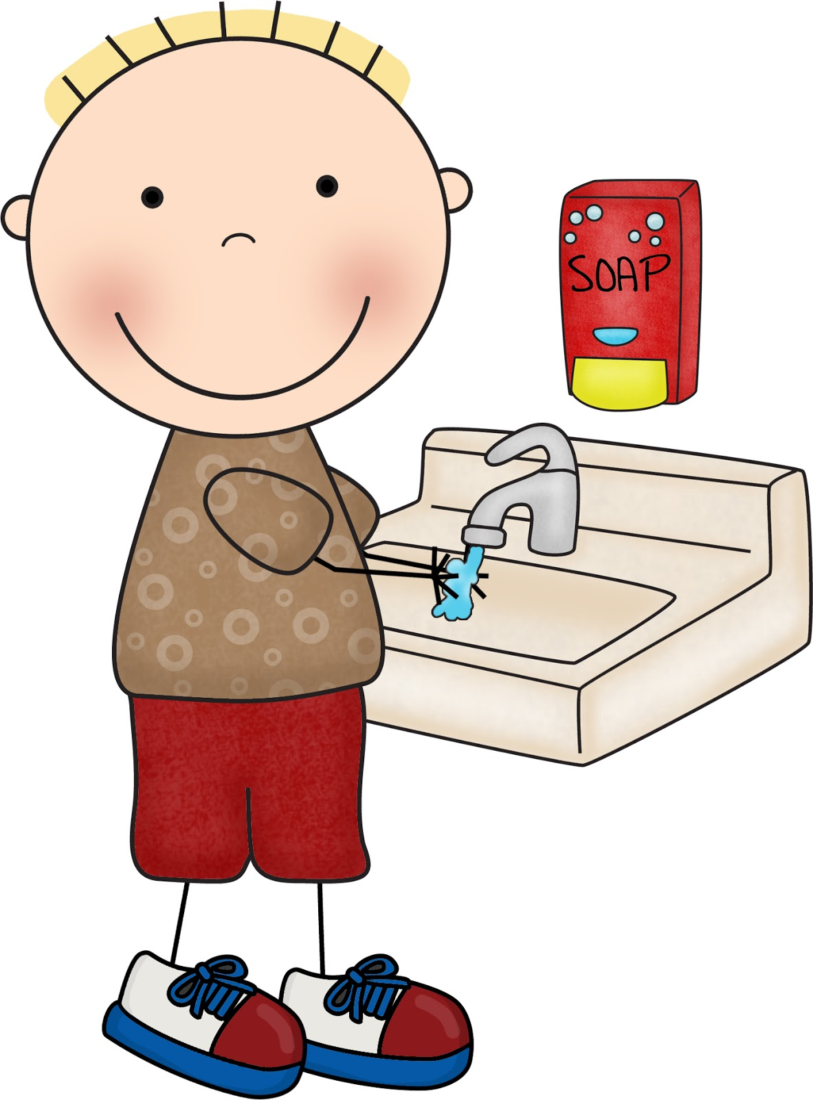 Clip Art Washing Hands Clipart washing hands clipart kid tips for keeping your