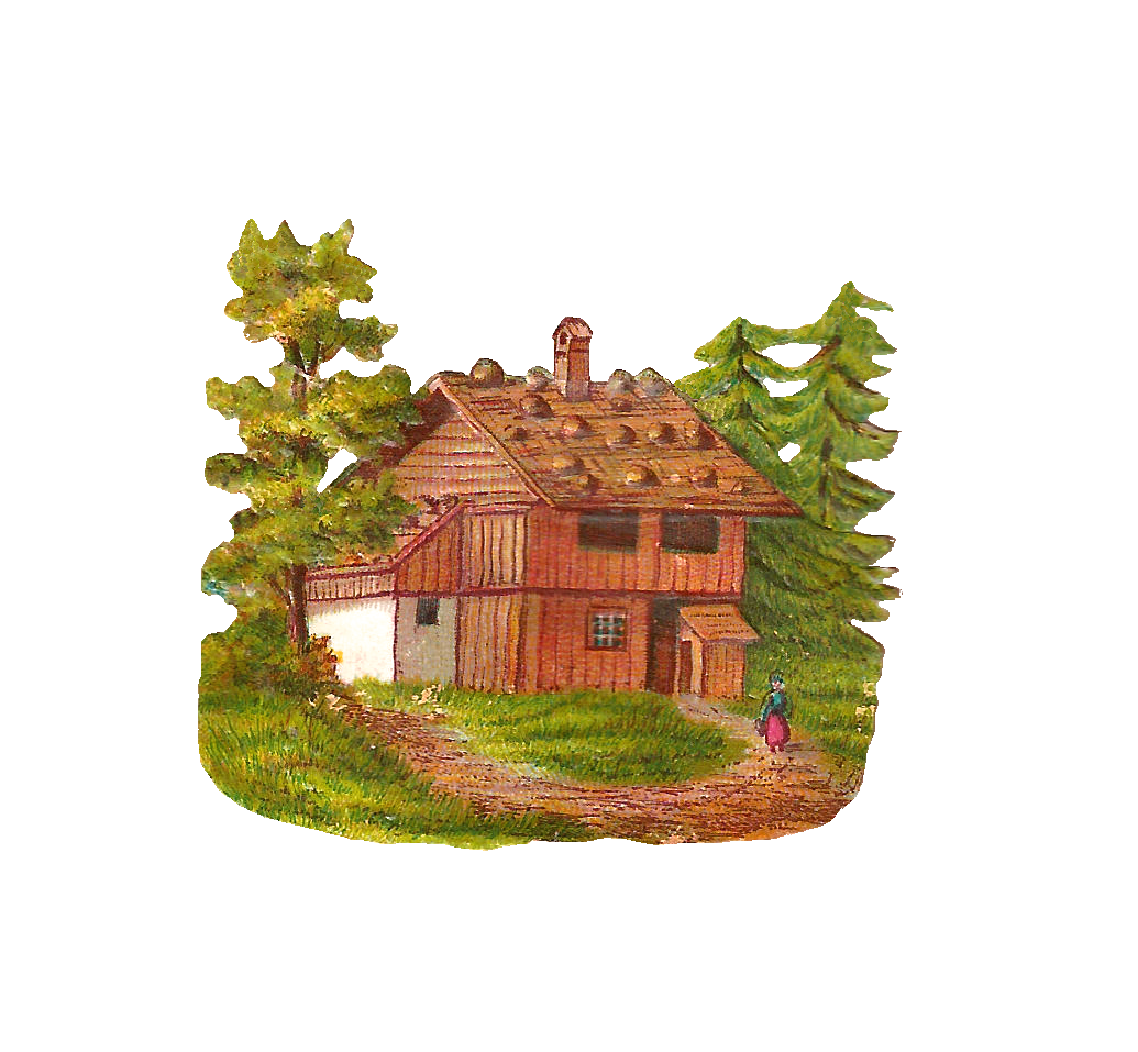 Log home clipart suggest