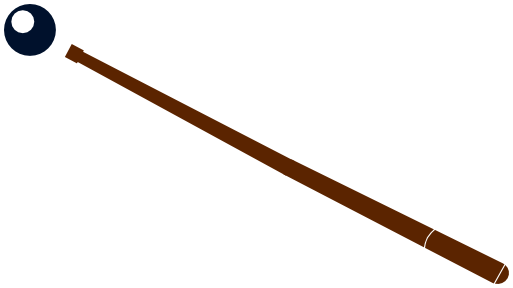 pool cue clipart clipart kid