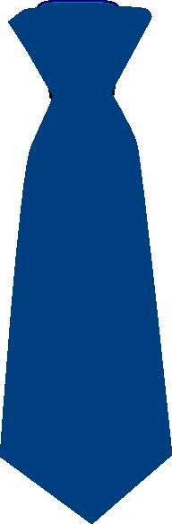 Blue Tie Clip Art At Clker Com Vector Clip Art Online Royalty Free