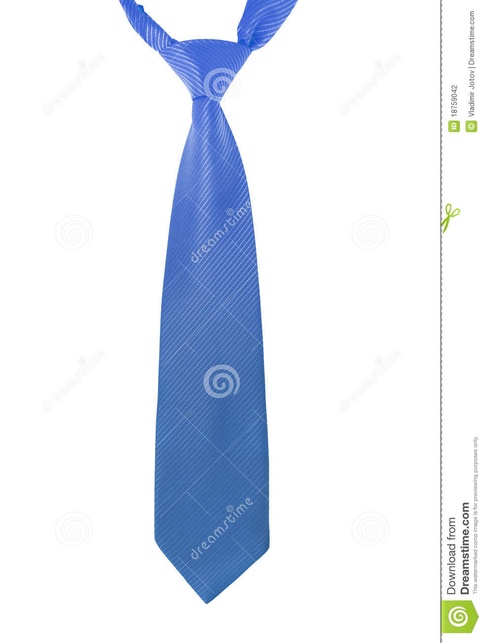 Blue Tie Stock Photography   Image  18759042