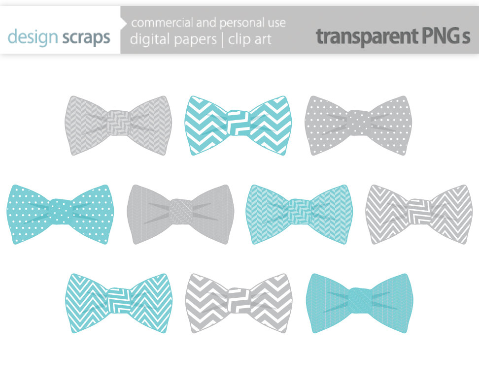 Bow Tie Clip Art Graphics Baby Boy Ties Digital By Designscraps
