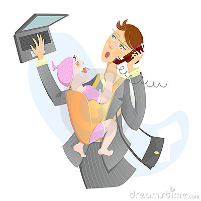 Busy Mom Clipart - Clipart Suggest