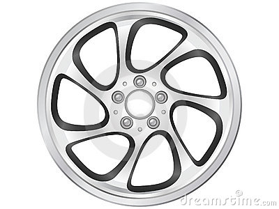Car Rim Stock Photo   Image  18484330
