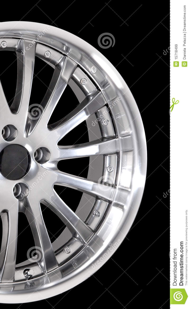 Car Rims Royalty Free Stock Images   Image  15718499