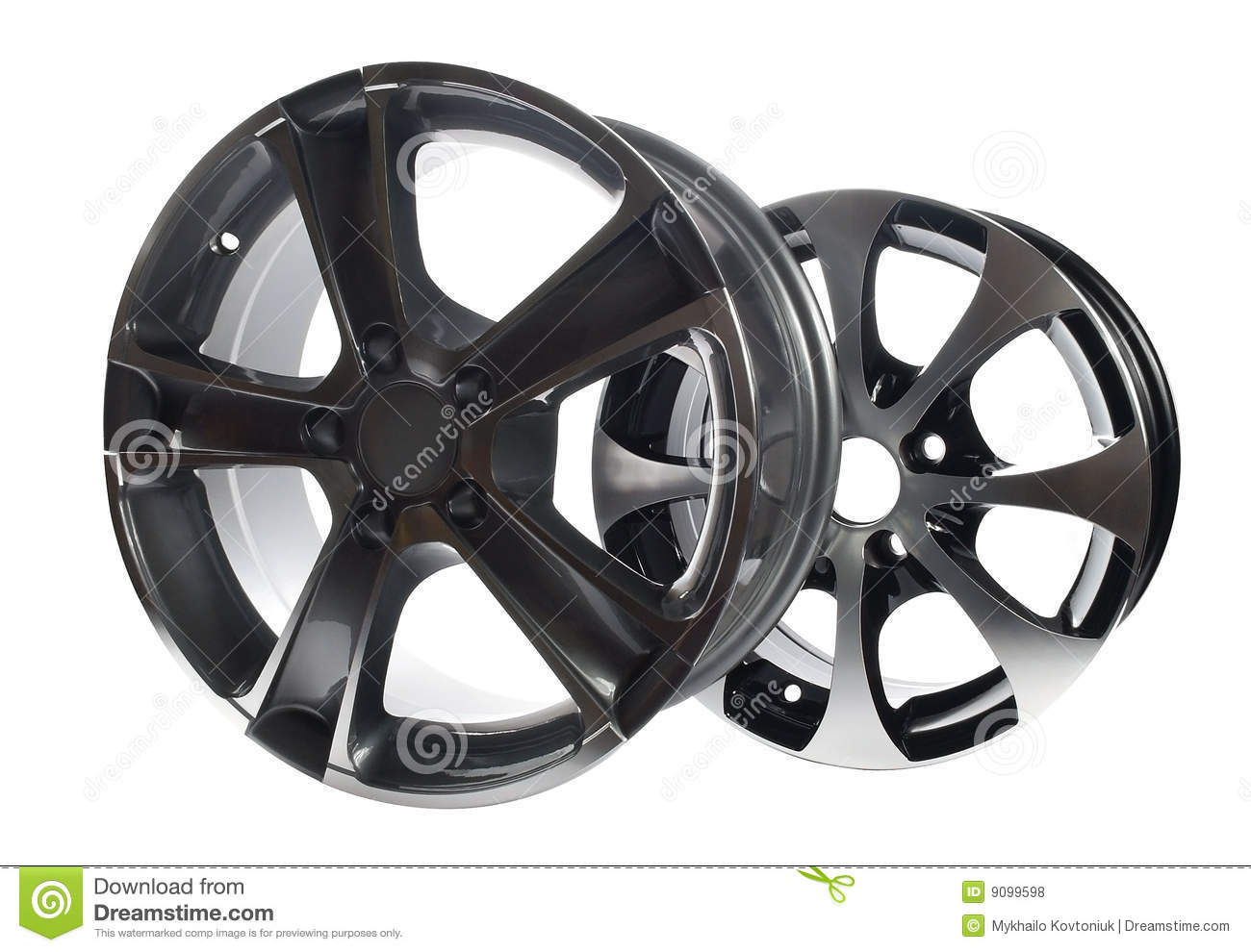 Car Rims Royalty Free Stock Photos   Image  9099598