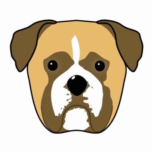 Cartoon Colour In Dog Face   Clipart Best