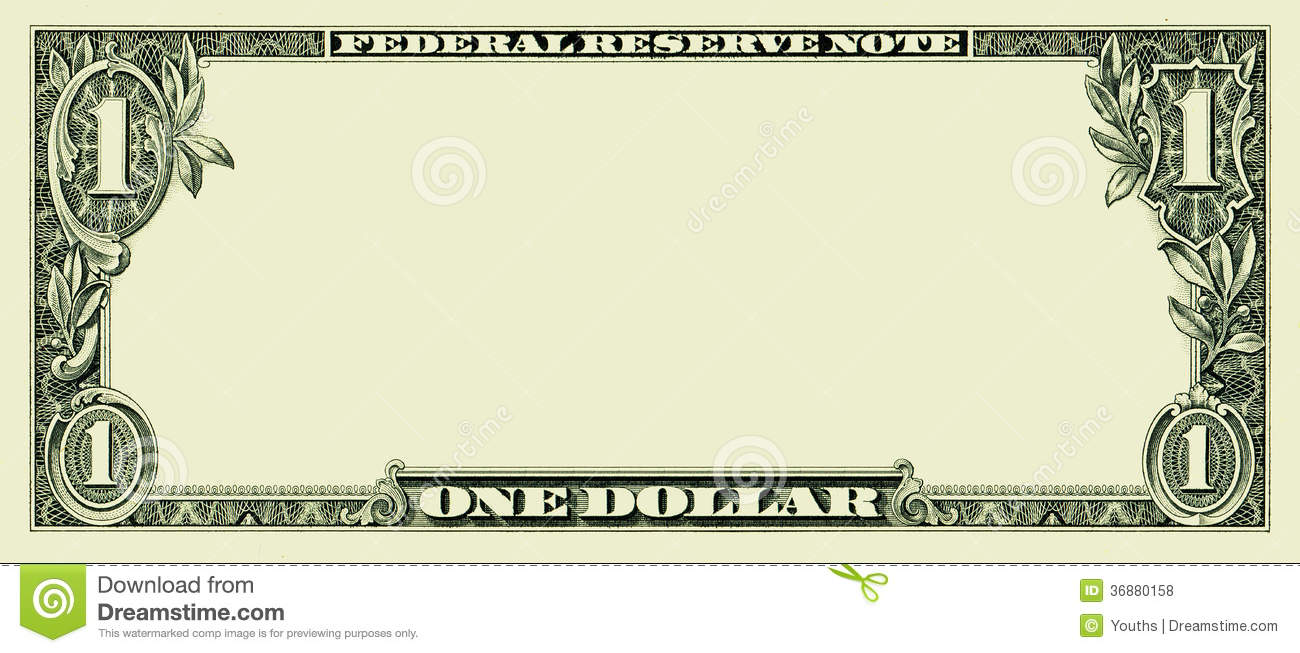 blank coupon clipart clipart kid clear 1 dollar banknote pattern for design purposes
