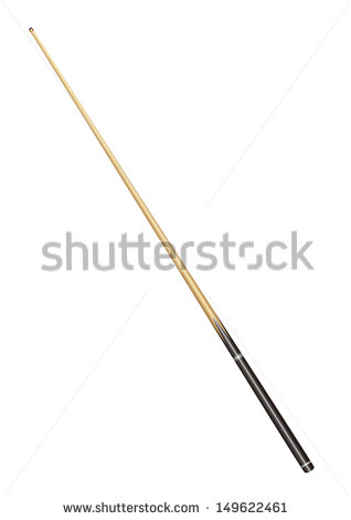 Crossed pool sticks clip art billiard cue isolated on white