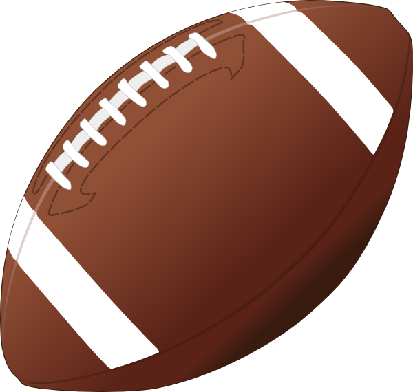 Football Clip Art At Clker Com   Vector Clip Art Online Royalty Free