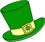 Green Hat St Patricks Leprechaun Clip Art