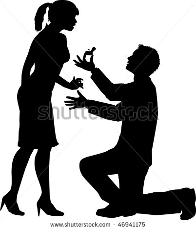 Illustration Depicting A Marriage Proposal   46941175   Shutterstock