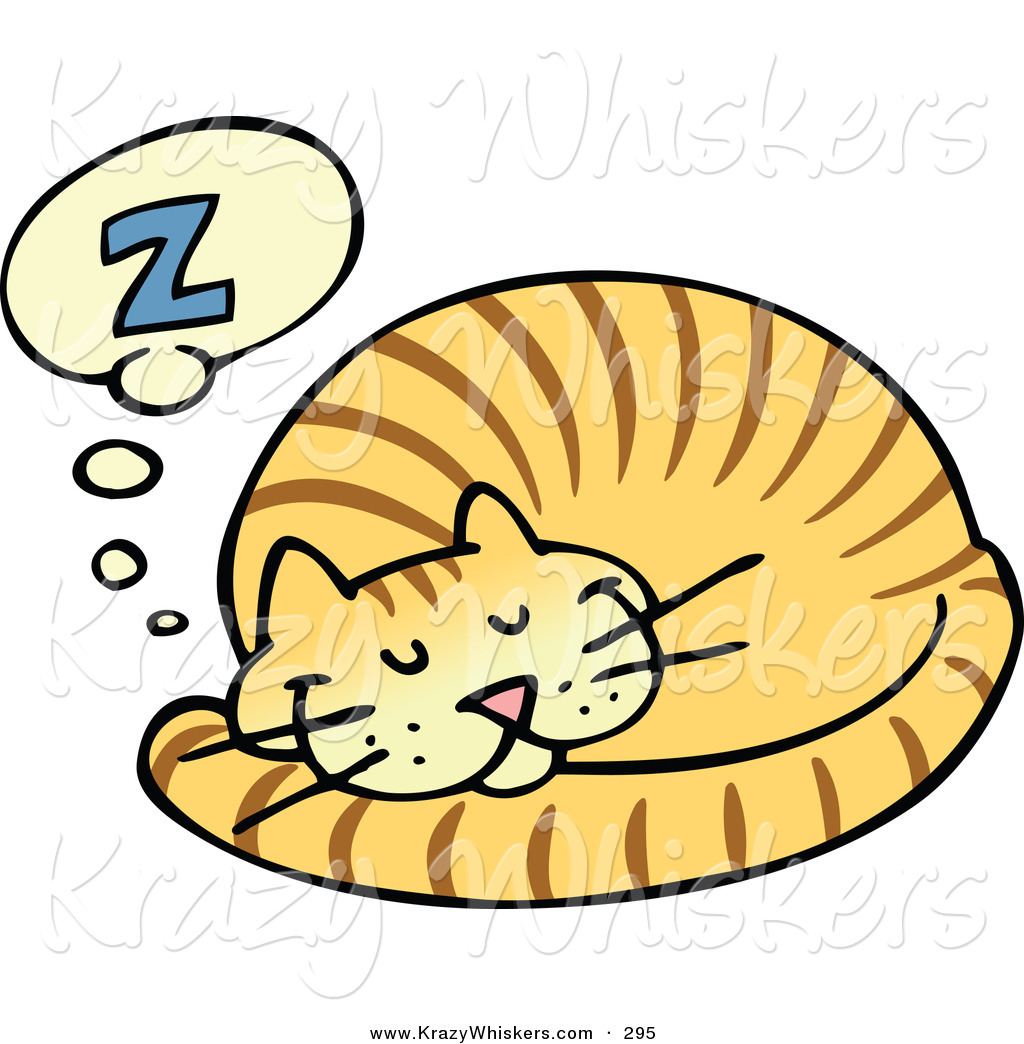 Lazy Cat Clip Art Cat Stock Animal Clipart