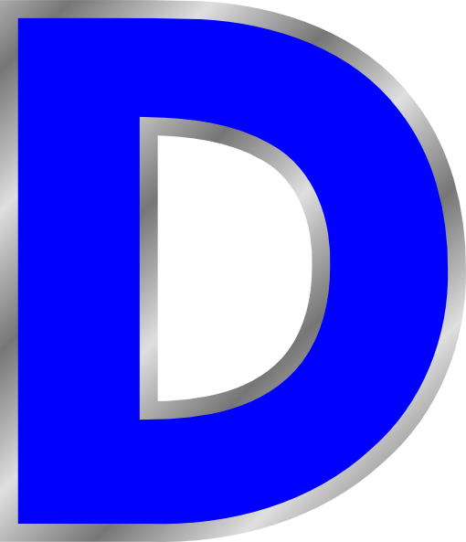 Letter D Clipart Clipart Suggest