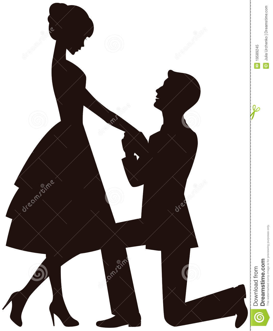 Marriage Proposal Royalty Free Stock Photo   Image  19589245