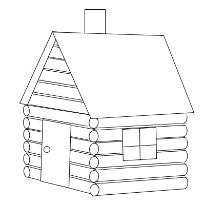 Clip Art Log Cabin Clipart clip art black and white log cabin clipart kid october 5 2003 homework for i simple vectors tutorial