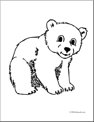 Clip Art Cute Bear Cub Clipart - Clipart Suggest