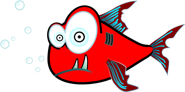 Funny Fish Clipart - Clipart Kid