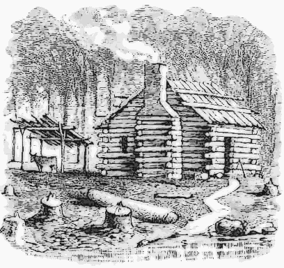 Log home clipart clipart suggest for How to draw a log cabin step by step
