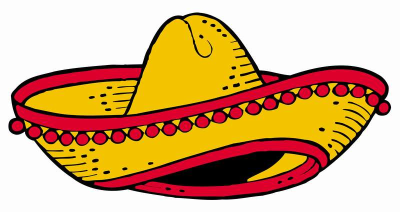 Mexican Sombrero Clipart - Clipart Suggest