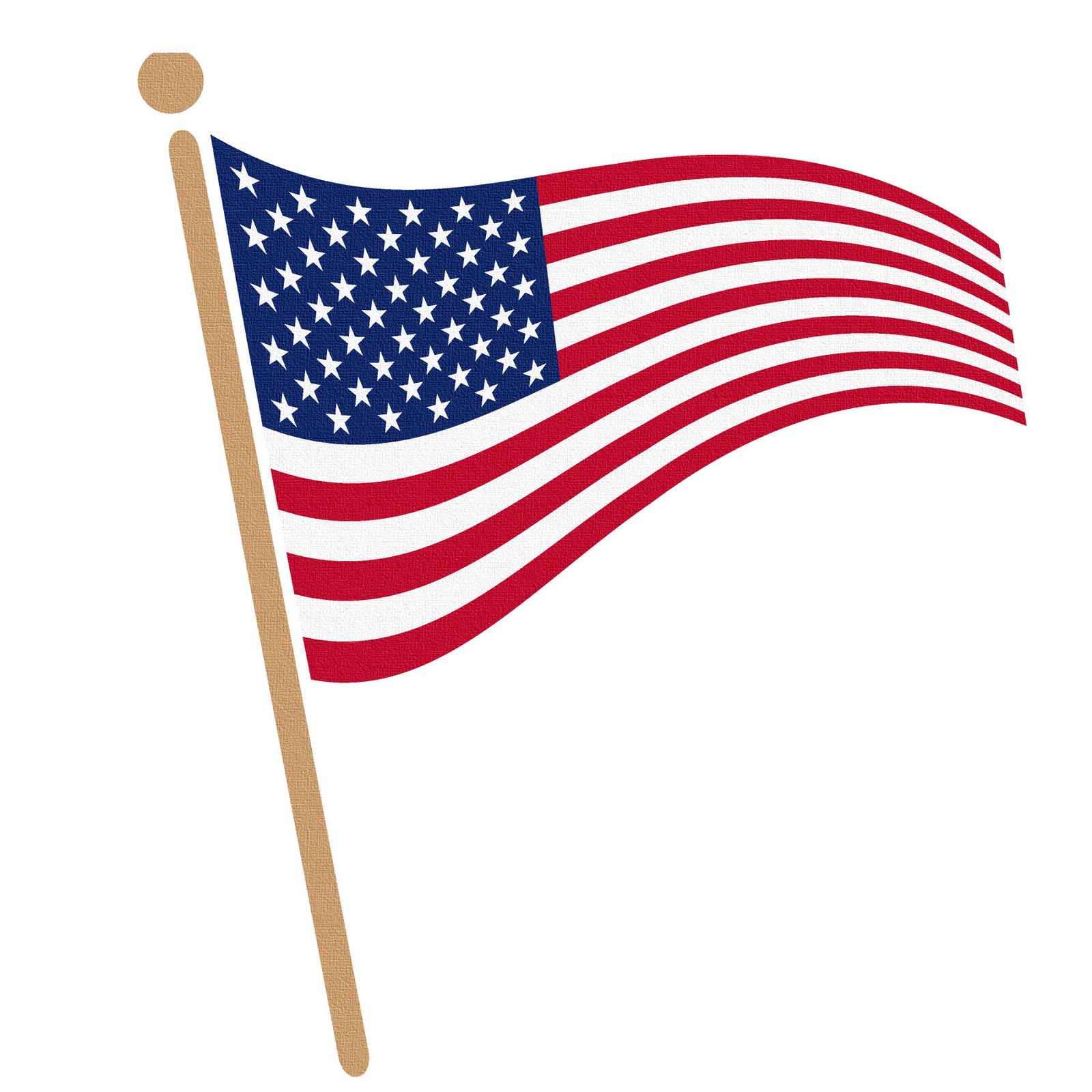 Usa Flag Clipart - Clipart Kid