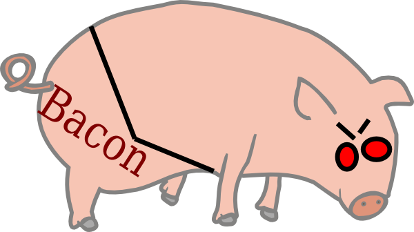 Bacon Graph Clip Art At Clker Com   Vector Clip Art Online Royalty