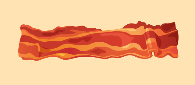 Bacon Illustration Illustration Of Bacon To