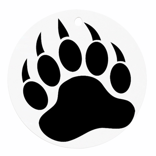 Bear Paw Art   Clipart Best